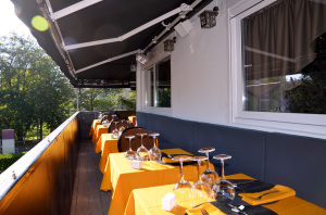 Terrasse du Restaurant Dans les Etoiles